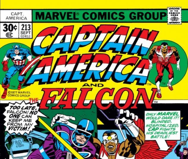 CAPTAIN AMERICA #213 COVER