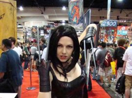 X-23 bares her claws for a pic