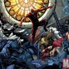 Image Featuring Daredevil, Elektra, Ghost Rider (Johnny Blaze), Iron Fist (Danny Rand), Moon Knight, Punisher, Spider-Man, Wolverine, The Hand, Bullseye, Misty Knight