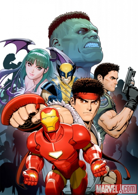 Marvel vs. Capcom 3: Fate of Two Worlds promo art