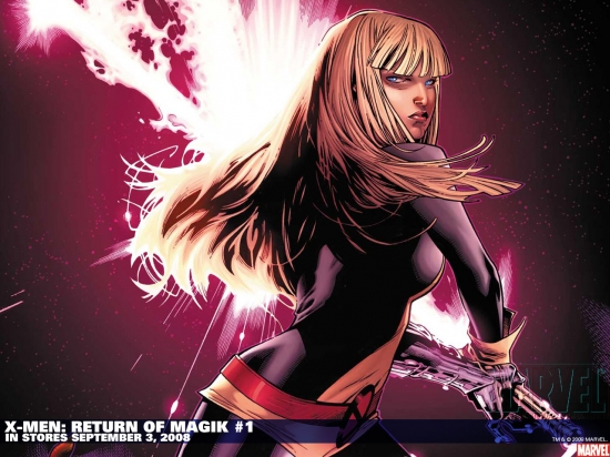 X-Men: Return of Magik (2008) #1 Wallpaper