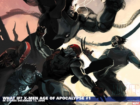 WHAT IF? X-MEN AGE OF APOCALYPSE #1