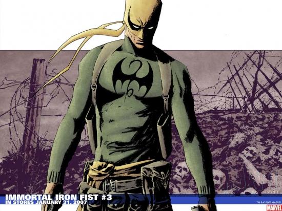 Immortal Iron Fist (2006) #3 Wallpaper