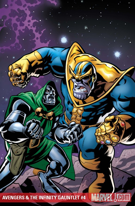 Avengers & the Infinity Gauntlet (2010) #4