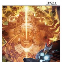 CHAOS WAR: THOR #1 cover by Tommy Lee Edwards