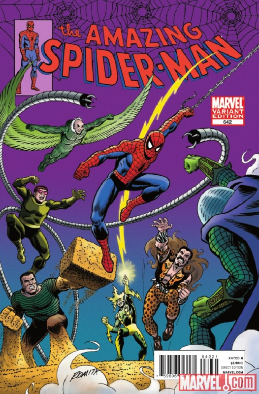 Image Featuring Doctor Octopus, Electro, Kraven the Hunter, Mysterio, Sandman
