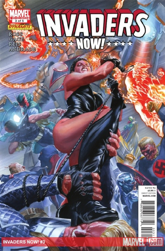 INVADERS NOW! #3 cover by Alex Ross