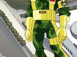 Final color art for HYDRA soldier from The Avengers: Earth's Mightiest Heroes!