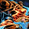 Fantastic Four 50th anniversary colored piece by Joe Quesada, Danny Miki & Laura Martin