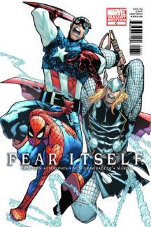 Fear Itself (2010) #6 (Architect Variant)