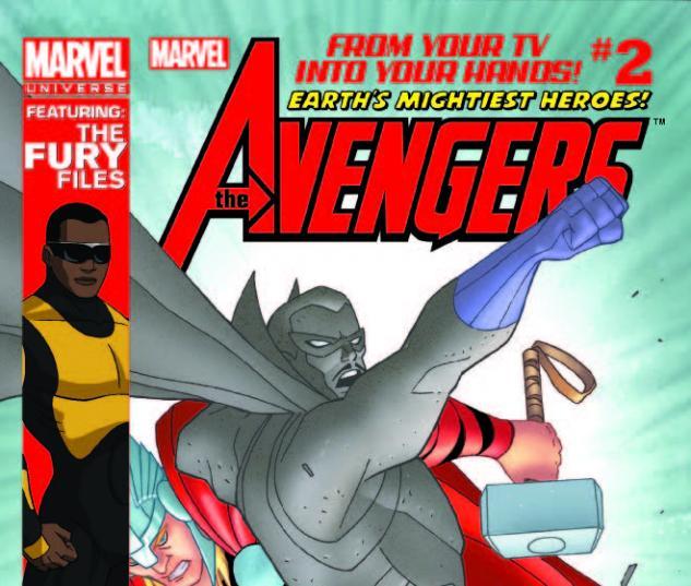 MARVEL UNIVERSE AVENGERS EARTH'S MIGHTIEST HEROES 2