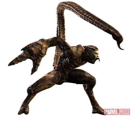 Scorpion from The Amazing Spider-Man video game