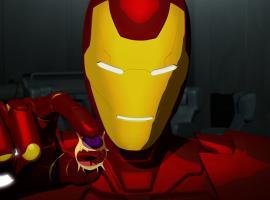 Screenshot of Iron Man from Season 2, Ep. 20