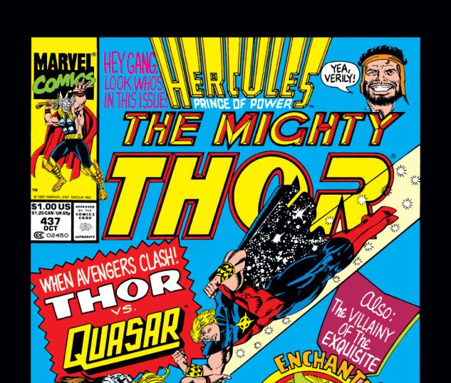 Thor (1966) #437 Cover