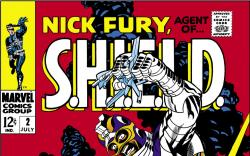 Nick Fury, Agent of Shield (1968) #2 Cover