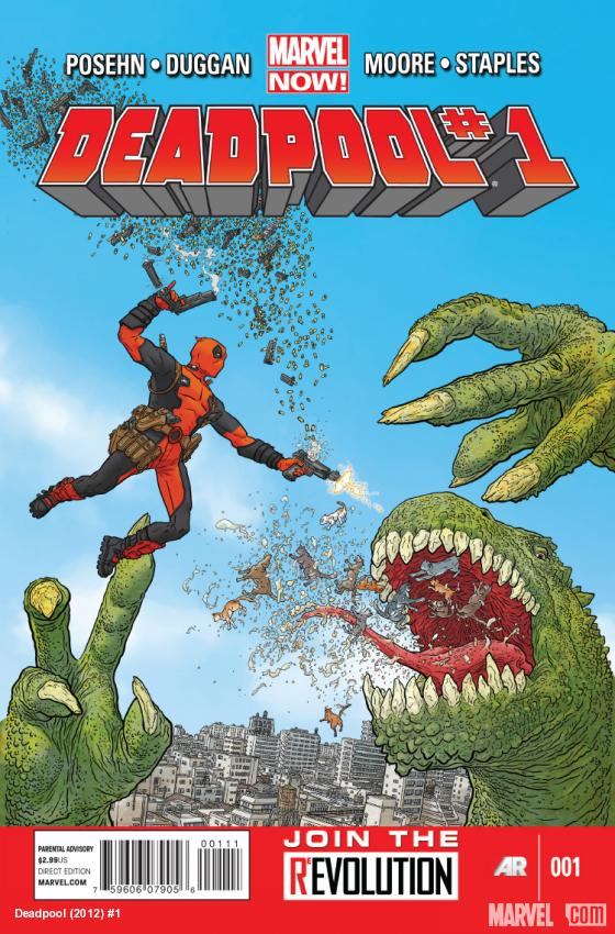 Deadpool (2012) #1 Cover