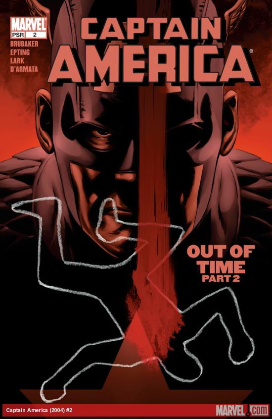 Cover for Captain America (2004) #2 - Out of Time