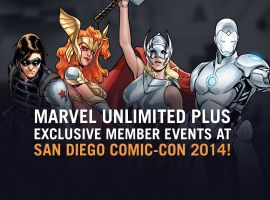 SDCC Marvel Unlimited+ Members Only Events