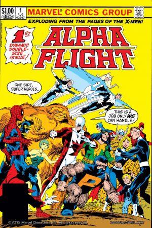 Alpha Flight (1983 - 1994) thumbnail