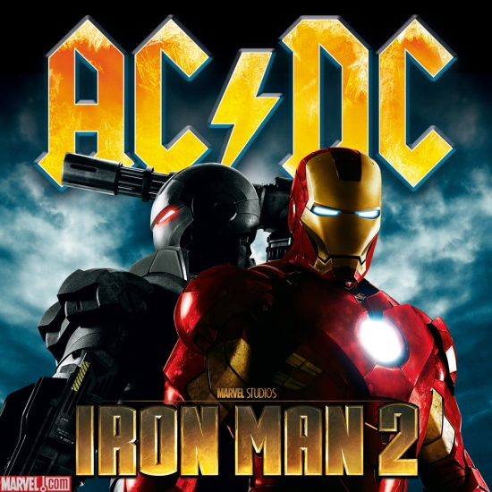 AC DC  Iron Man 2 album cover art   Apps   Marvel comIron Man 2 Cover Art