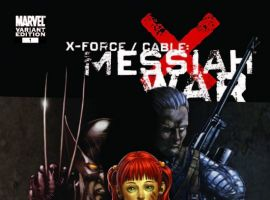 X-FORCE/CABLE: MESSIAH WAR PROLOGUE Choi Cover