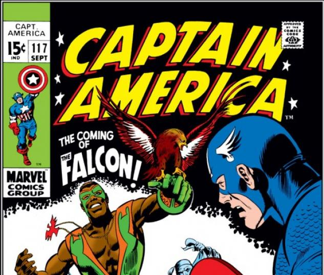 CAPTAIN AMERICA #117 COVER