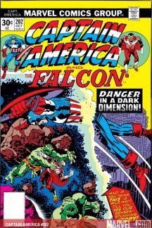 Captain America #202