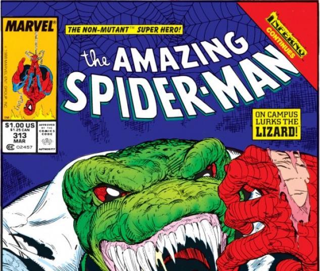 AMAZING SPIDER-MAN #313