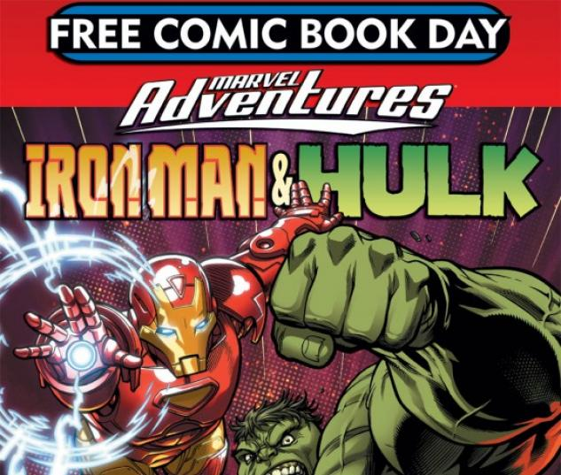 Free Comic Book Day Hulk Heroclix: Free Comic Book Day 2007 (Marvel Adventures) (2007) #1