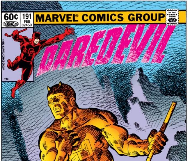 DAREDEVIL #191 COVER