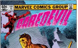 DAREDEVIL #191 COVER