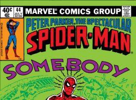 Peter Parker, The Spectacular Spider-Man #44