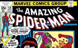 AMAZING SPIDER-MAN #178 COVER