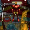 Iron Man looking serious in Marvel Pinball
