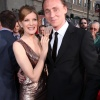 Stars Rene Russo (Frigga) and Tom Hiddleston (Loki) at the U.S. premiere of Thor