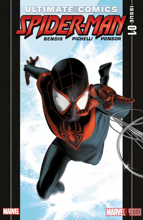Ultimate Comics Spider-Man #1 Cover by Kaare Andrews