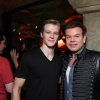 Lucas Till (Havok) and DJ Paul Oakenfold at the X-Men: First Class Blu-ray launch party