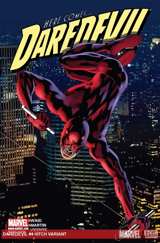 Daredevil (2011) #4, Hitch Variant
