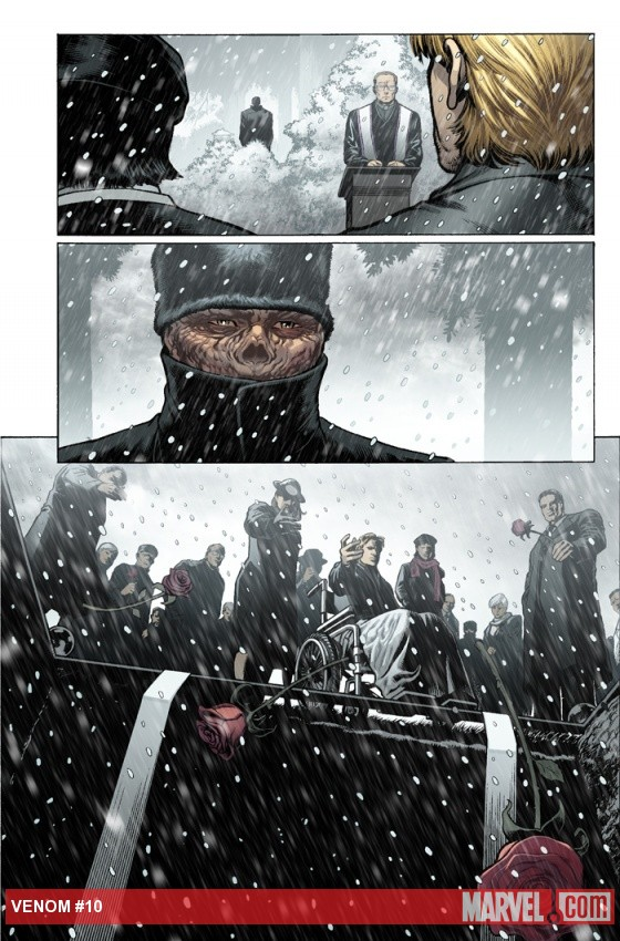 Venom (2011) #10 preview art by Lan Medina