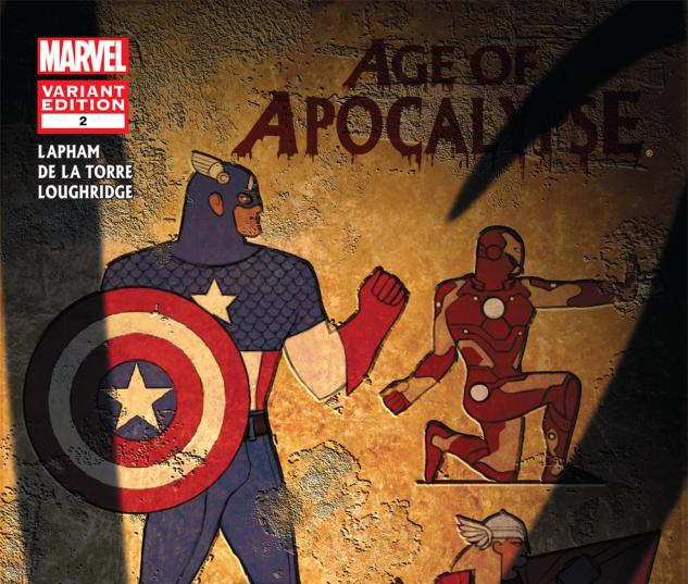 Age of Apocalypse (2011) #2, Avengers Art Appreciation Variant