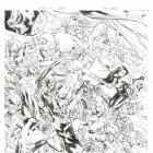 X-Factor #250 variant cover pencils by Clay Mann