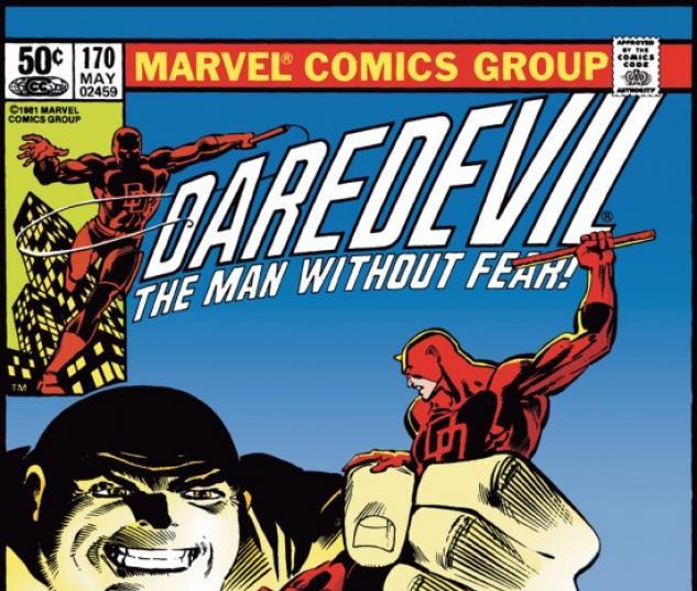 DAREDEVIL #170 COVER