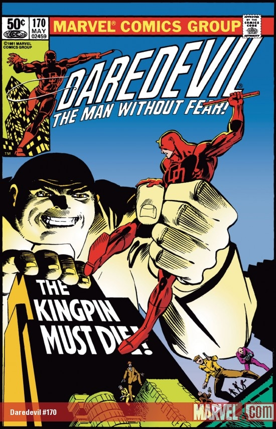 DAREDEVIL #170 COVER