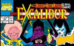 EXCALIBUR #25 COVER
