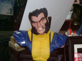 Legendary Scale Wolverine Bust