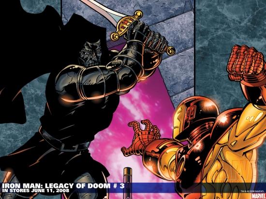 Iron Man: Legacy of Doom (2008) #3 Wallpaper