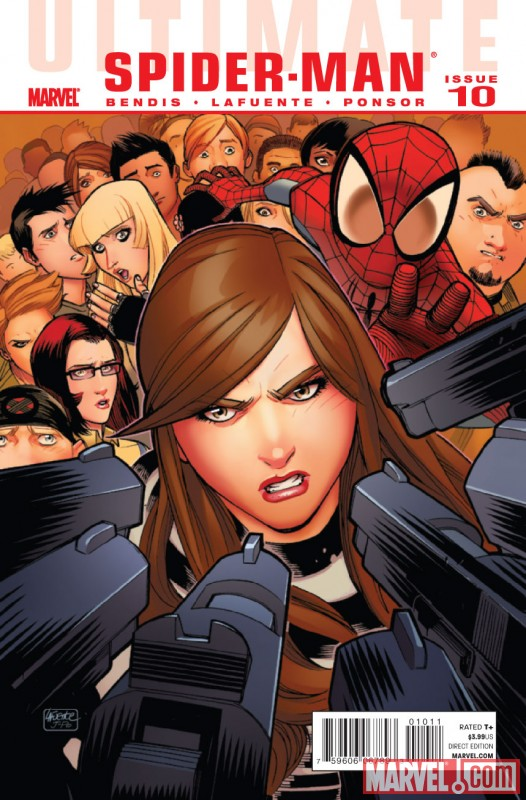 ULTIMATE COMICS SPIDER-MAN #10 cover by David Lafuente