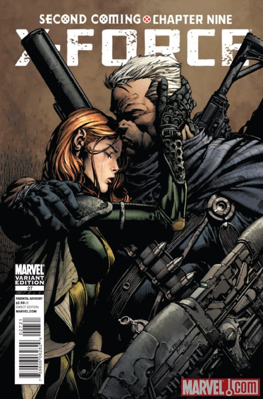 X-FORCE #27 variant cover art by David Finch