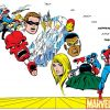 Image Featuring The Winter Soldier, Hank Pym, Captain America, Sharon Carter, Falcon, Iron Man, Red Skull