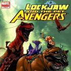 Image Featuring Lockheed, Lockjaw, Pet Avengers